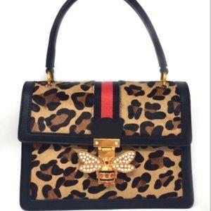 Handbags - leopard handbag